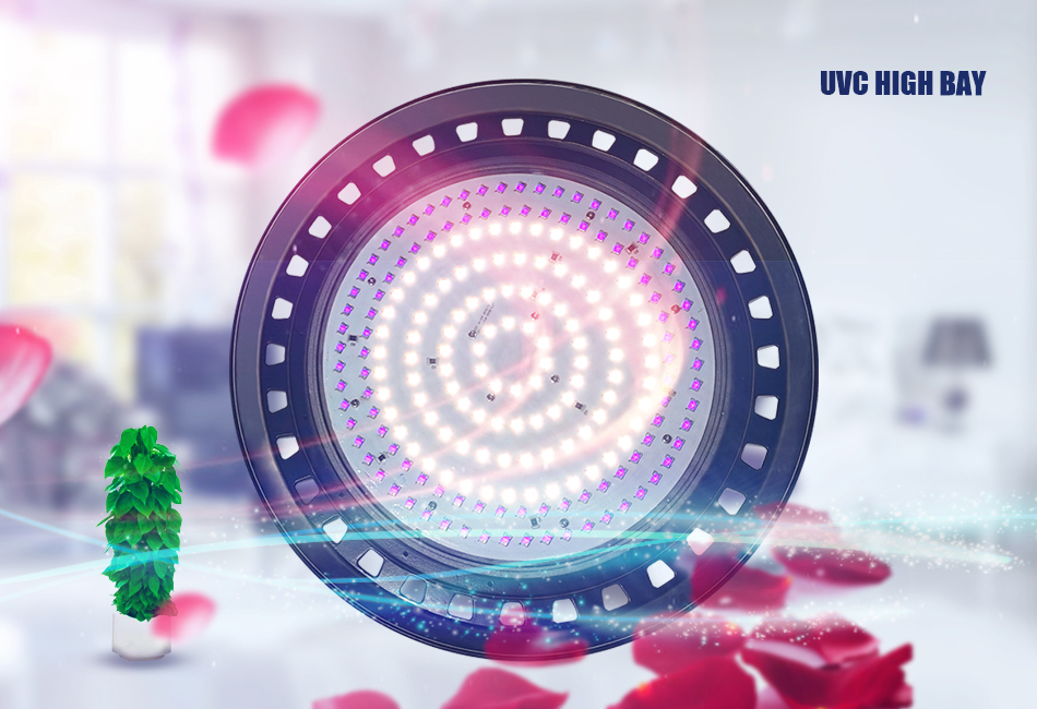 UV germicidal lamp, UFO ultraviolet germicidal lamp, UVC high bat