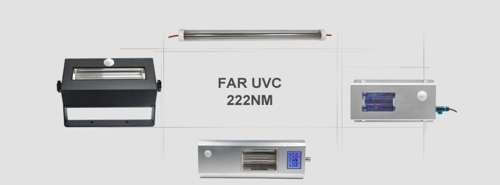 222nm UV light ,   UVC lamp,  UV germicidal lamp, Excimer lamp